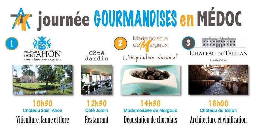 pub internet Gourmandises en Médoc