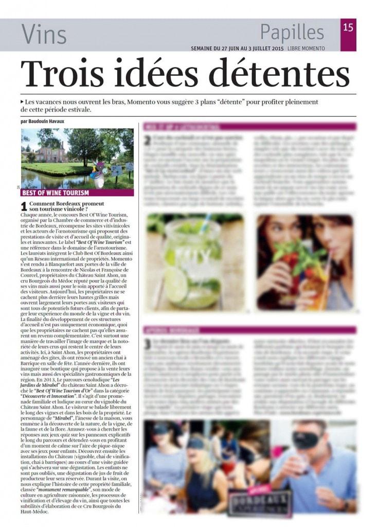 Article-La-Libre-Momento-juin-2015