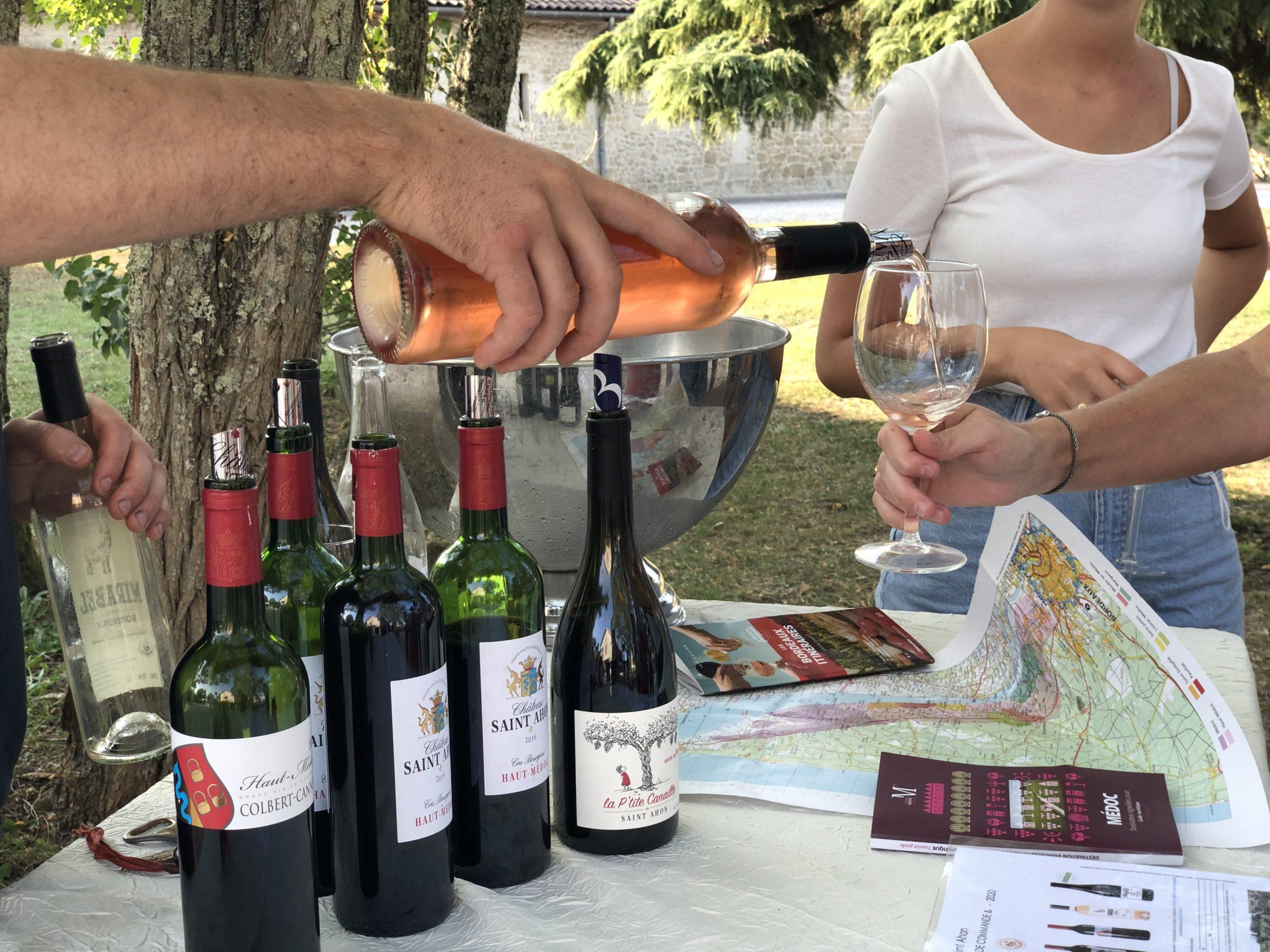 Château Saint Ahon - Dégustation de nos vins